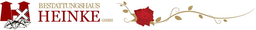 Bestattungshaus Heinke GmbH - Logo